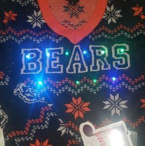 Chicago Bears Light up bluetooth sweater